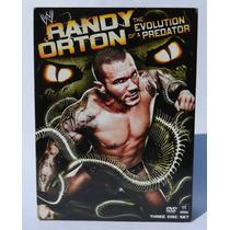 3 Dvd Wwe Randy Orton Paquete De Lujo Excelente Para Regalo