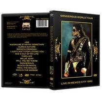 Michael Jackson Dangerous Tour Mexico Dvd + Lp Thriller 80