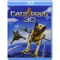 Cats & Dogs: The Revenge Of Kitty Galore Blu-ray 3d/2d