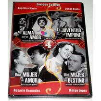 Paq 4 Pel En Dvd, Mi Alma Por Un Amor, Una Mujer Sin Amor