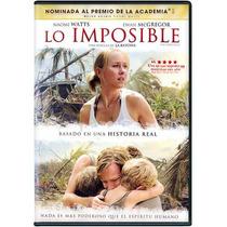 Lo Imposible. La Pelicula En Formato Dvd
