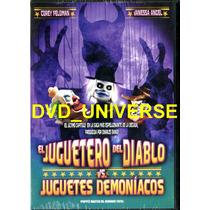 El Juguetero Del Diablo Vs Juguetes Demoniacos. Región 4 Dvd