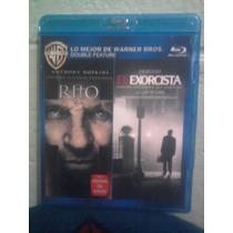 Blu Ray Doble El Rito Y El Exorcista 1 Terror Fantasmas