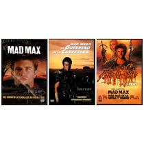Mad Max, Saga Paquete 3 Peliculas, Mel Gibson Australia, Dvd