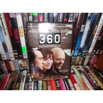 360º Dvd Pelicula Anthony Hopkins Jude Law