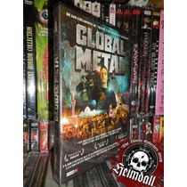 Dvd Global Metal Sub Esp Ed Europea Metallica Slayer Maiden