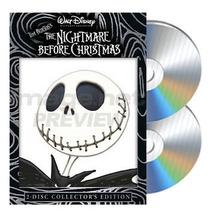 :: Extraño Mundo D Jack :: 2 Dvds Disney Tim Burton