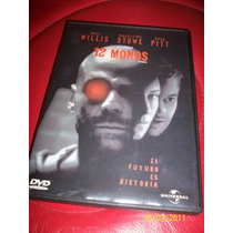 12 Monkeys 12 Monos Bruce Willis Brad Pitt Dvd 1995