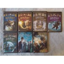 Harry Potter,paquete Con Las 7 Peliculas, Años 1-7 En Dvd