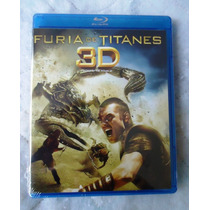 Pelicula Furia De Titanes En Blu-ray 3d. Clash Of The Titans