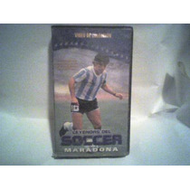 Video Documental Vhs Leyendas Del Futbol, Maradona