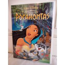 Pocahontas, Pelicula En Formato Dvd, Walt Disney