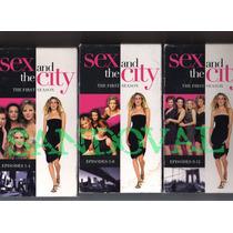 Vhs Sex And The City Primer Temporada Capitulos De 1 Al 12