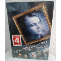 Boxset Leonardo Di Caprio, La Coleccion De Peliculas En Dvd