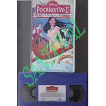 Pelicula Vhs Pocahontas 2 (viaje A Un Nuevo Mundo)