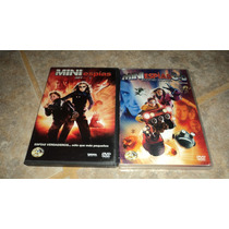 Dvd Mini Espias Spy Kids Coleccion