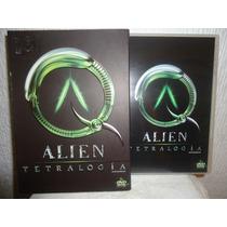 Boxset, Alien Tetralogia, En Dvd Edicion De 9 Dvd´s