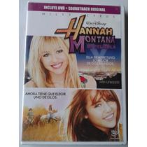 Hannah Montana La Pelicula En Dvd Y El Cd Soundtrack 2009