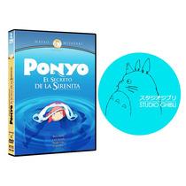 Dvd - Ponyo (hayao Miyasaki - Estudio Ghibli) Au1