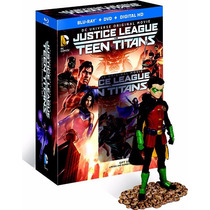 Justice League Vs Teen Titans Box Set + Figura