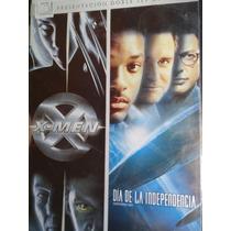 X Men Y Día De La Independencia Dvd Nueva