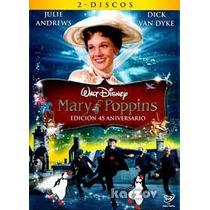 Mary Poppins Edicion De 2 Discos En Disney Dvd Super Precio