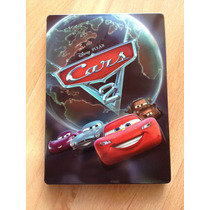 Disney Pixar Cars 2 Steelbook G1 Exclusivo Sin Peliculas