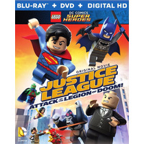 Justice League Attack Of The Legion Of Doom Lego Dc Blu-ray
