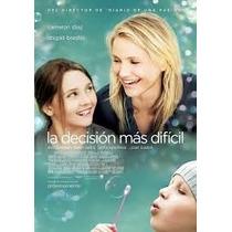 Dvd La Decisión Mas Difícil Cameron Diaz