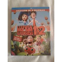 Lluvia De Hamburguesas 1 Y 2 Blu-ray + Dvd Combo