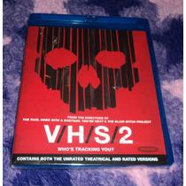 Vhs 2 - V/h/s/2 - Bluray Importado Usa Terror