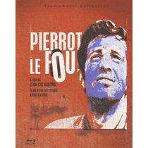 Blu-ray Original Pierrot Le Fou El Loco Jean Belmondo Godard