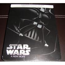 Star Wars 4 Una Nueva Esperanza Steelbook En Blu-ray