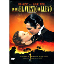 Dvd Lo Que El Viento Se Llevo ( Gone With The Wind ) 1939 -