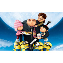 Mi Villano Favorito Bluray 3d+2d+dvd Incluye3 Mini-pelis Nva