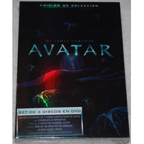 Avatar. Edicion De Coleccion. Set De 3 Discos