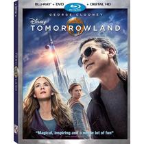 Tomorrowland - Bluray + Dvd Importado Usa George Clooney