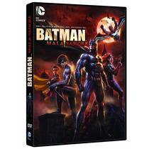 Batman Mala Sangre Dc Comics , Pelicula En Dvd