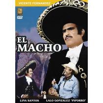 Dvd Mexicano Vicente Fernandez Y El Piporro El Macho Tampico