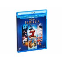 Disney Fantasia Un Clasico Original Pelicula Blu-ray + Dvd