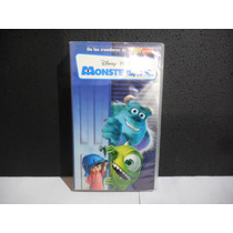 Monsters, Inc, Pelicula, Vhs