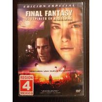 Final Fantasy El Espiritu En Nosotros / Dvd Usado