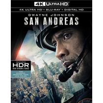 San Andreas - Terremoto - Bluray Ultra Hd 4k + Bluray Usa
