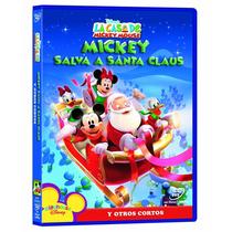 Mickey Salva A Santa , Pelicula Dvd