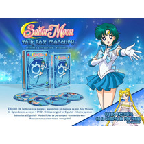 Sailor Moon Talk Box Mercury (4dvd