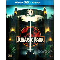 Jurassic Park 3d, Parque Jurasico 1993, Blu-ray + Blu-ray 3d