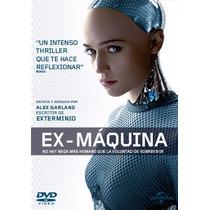 Ex-maquina , Ex_machina , Pelicula Ciencia Ficcion En Dvd