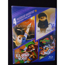 Ga´hoole Oso Yogi Space Jam Los Monstruos Paquete 4 Bluray