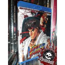 Street Fighter 2 Animated Movie 20 Aniv Bluray + Dvd Español
