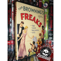 Dvd Freaks 1932 Tod Browning Fenomenos Terror Gore Subt Esp